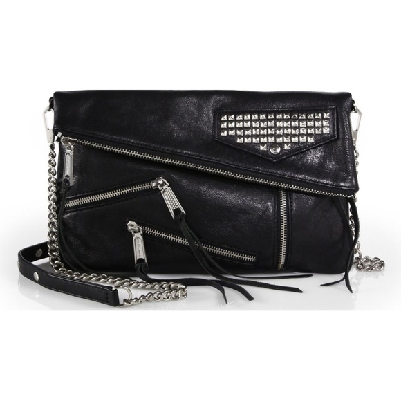 Rebecca Minkoff Handbags - Rebecca Minkoff Harper Crossbody Leather Studded